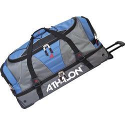 Athalon Blue 32-inch Drop Bottom Equipment Duffel Bag