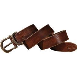 Men's A Kurtz D Ring Keeper Belt Brown