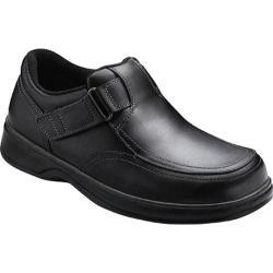 Men's Orthofeet Carnegie Black Leather