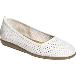 Women's A2 by Aerosoles Solsa Dance White Faux Leather
