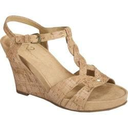 Women's A2 by Aerosoles Stone Plush Cork Combo