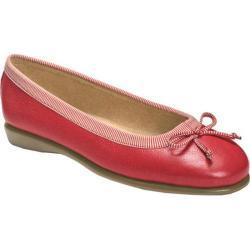 Women's Aerosoles Teashop Red Leather/Fabric