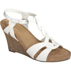 Women's A2 by Aerosoles Stone Plush White Faux Leather