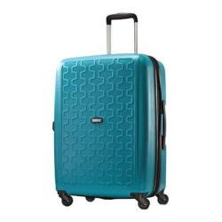 American Tourister Duralite 360 24in Expandable Spinner Seaport Blue