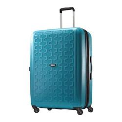 American Tourister Duralite 360 28in Expandable Spinner Seaport Blue