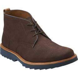 Men's Clarks Fulham Hi Brown Leather