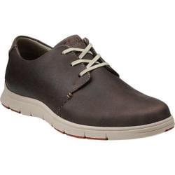 Men's Clarks Milloy Vibe Dark Brown Leather