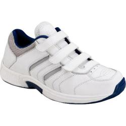 Men's Orthofeet Ventura White Leather