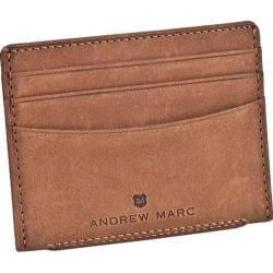 Men's Andrew Marc Warren Slim Cardcase Whiskey