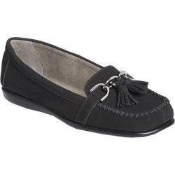Women's Aerosoles Super Soft Black Nubuck