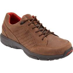 Men's Rockport Make Your Path Lace To Toe New Chocolate Leather