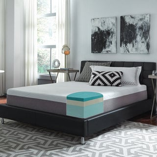 Slumber Solutions Choose Your Comfort 12-inch King-size Gel Memory Foam Mattress