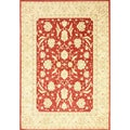 nuLOOM Traditional Ziegler Mahal Red Rug (7'10 x 11')