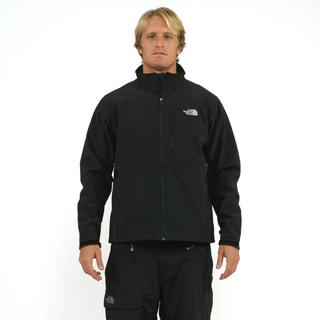 The North Face Men's 'Apex' Black Bionic Softshell Jacket (Small)