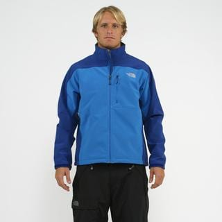 The North Face Men's 'Apex' Blue Bionic Softshell Jacket