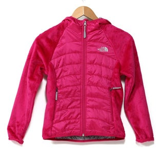 The North Face Girls' Oso Animagi Razzle/Pink Hoodie Jacket