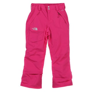The North Face Girls' 'Freedom' Fusion Pink Ski Pants