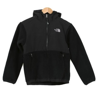 The North Face Boys 'Denali' TNF Black Jacket (Size SM 7/8)