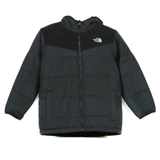 The North Face Boys' True or False Reversible Jacket in TNF Black/ Foil Grey