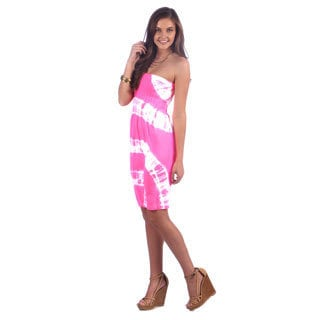 Ingear Juniors Tie Dye Seamless Tube Dress (One size)