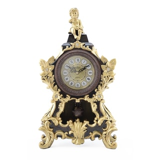Sitting Angel Table Top Clock with Pendulum