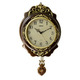 Classic Wall Clock with Pendulum