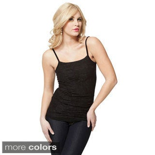 Modbod Women's Basic Lace Front Cami