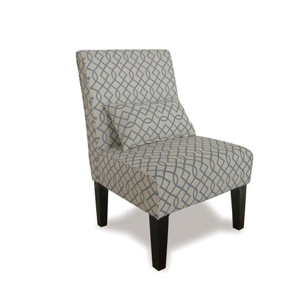 Bella Swirl Accent Chair 15869947 Overstock Com
