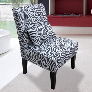 Bella Zebra Accent Chair