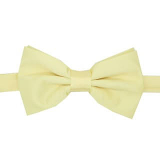 Ferrecci Men's Light Yellow Bowtie