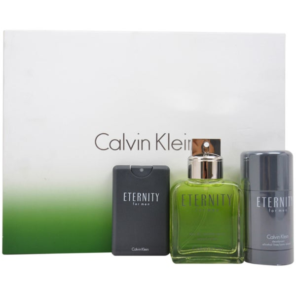 Calvin Klein Eternity Men's 3-piece Gift Set