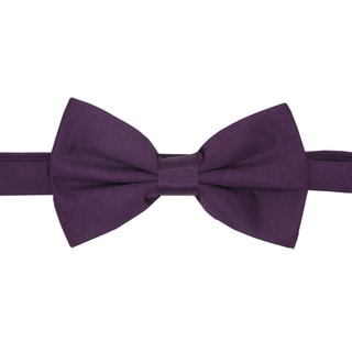 Ferrecci Men's Dark Purple Bowtie