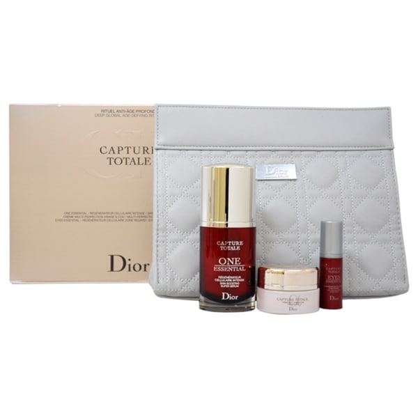 Dior Capture Totale 4-piece Deep Global Age-Defying Ritual Kit