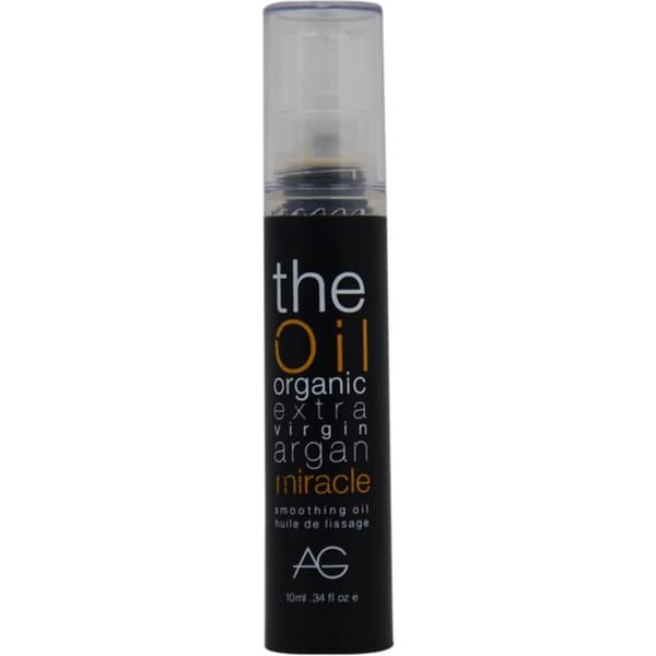 AG Hair Cosmetics The Oil Organic Extra Virgin Argan Miracle 0.34-ounce Soothing Oil