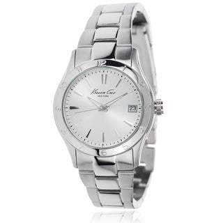 Kenneth Cole Women's Silver Stainless Steel Link Watch