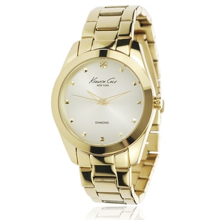 Kenneth Cole Women's Gold Stainless Steel Link Watch