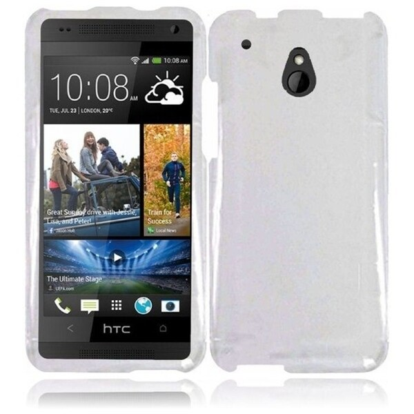 INSTEN Clear Hard Plastic Phone Case Cover for HTC One Mini M4