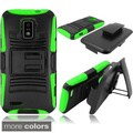 INSTEN Phone Case Cover with Stand for ZTE Warp LTE N9510