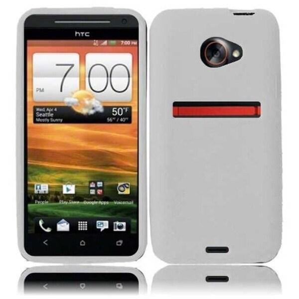 INSTEN Soft Silicone Phone Case Cover for HTC Evo 4G LTE/ HTC Evo One