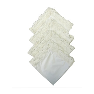 Vintage Crochet Napkins (Set of 4)