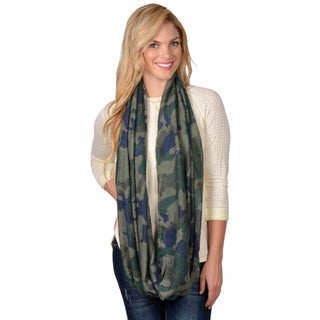 Journee Collection Women's Print Fashion Infinity Scarf