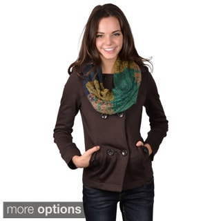 Journee Collection Women's Marled Knit Figure 8 Scarf
