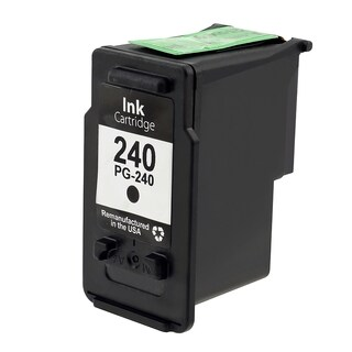 INSTEN Canon-CL 240 Black Cartridge Set (Remanufactured) (Pack of 3)