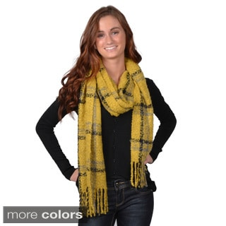 Acrylic Journee Collection Women's 100-percent Fashion Fringe Scarf
