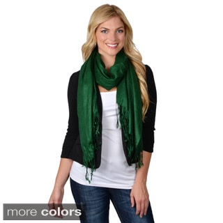 Journee Collection Women's Fashion Fringed Scarf