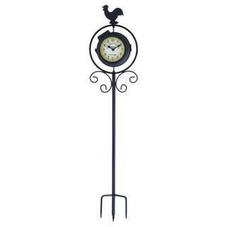 Metal Garden Stake Clock