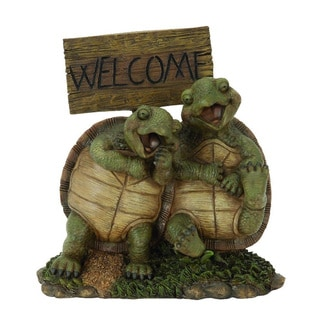 Turtle Welcom Sign Garden Decor