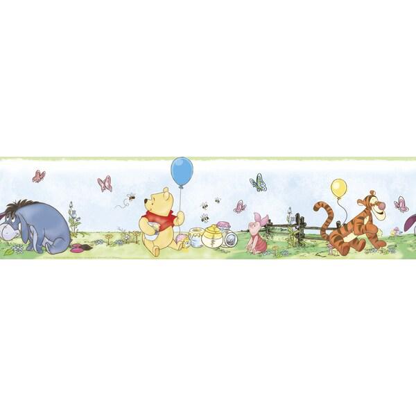Disney's Winnie the Pooh Toddler Peel & Stick Border