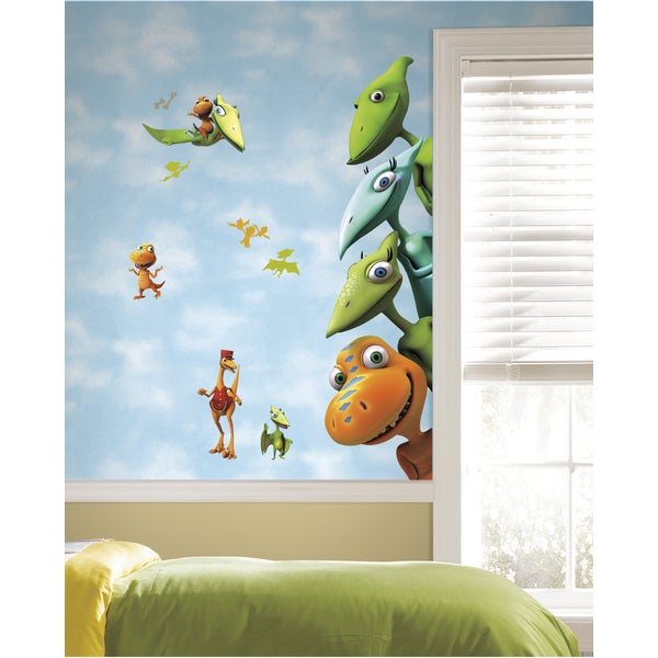 Jim Henson's Dinosaur Train Peel & Stick Giant Wall Decals 12127687
