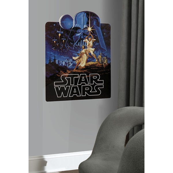 Star Wars Classic Collage Peel & Stick Giant Wall Decal